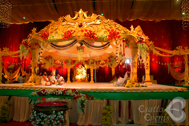 Colorful Flower Wedding Reception Manavarai Decoration Chennai