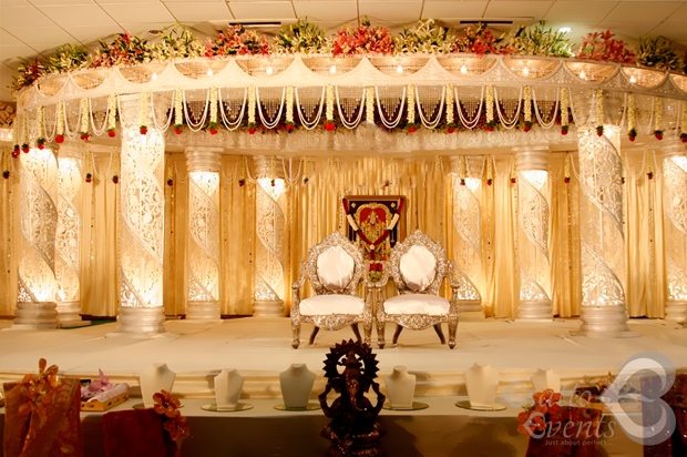 Colorful Flower Wedding, Reception, Manavarai Decoration